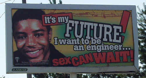 Sad but true billboard about the pathetic life of engineers